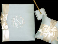Guest Book, Pen and Pillow Set-SAVE!