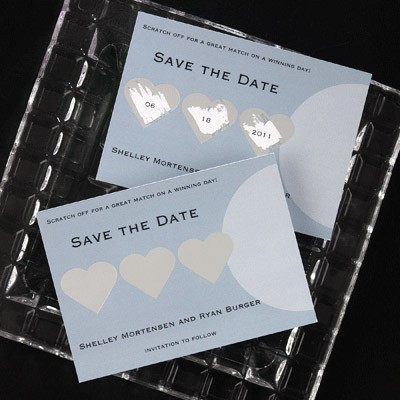 Save the Date Scratch Off